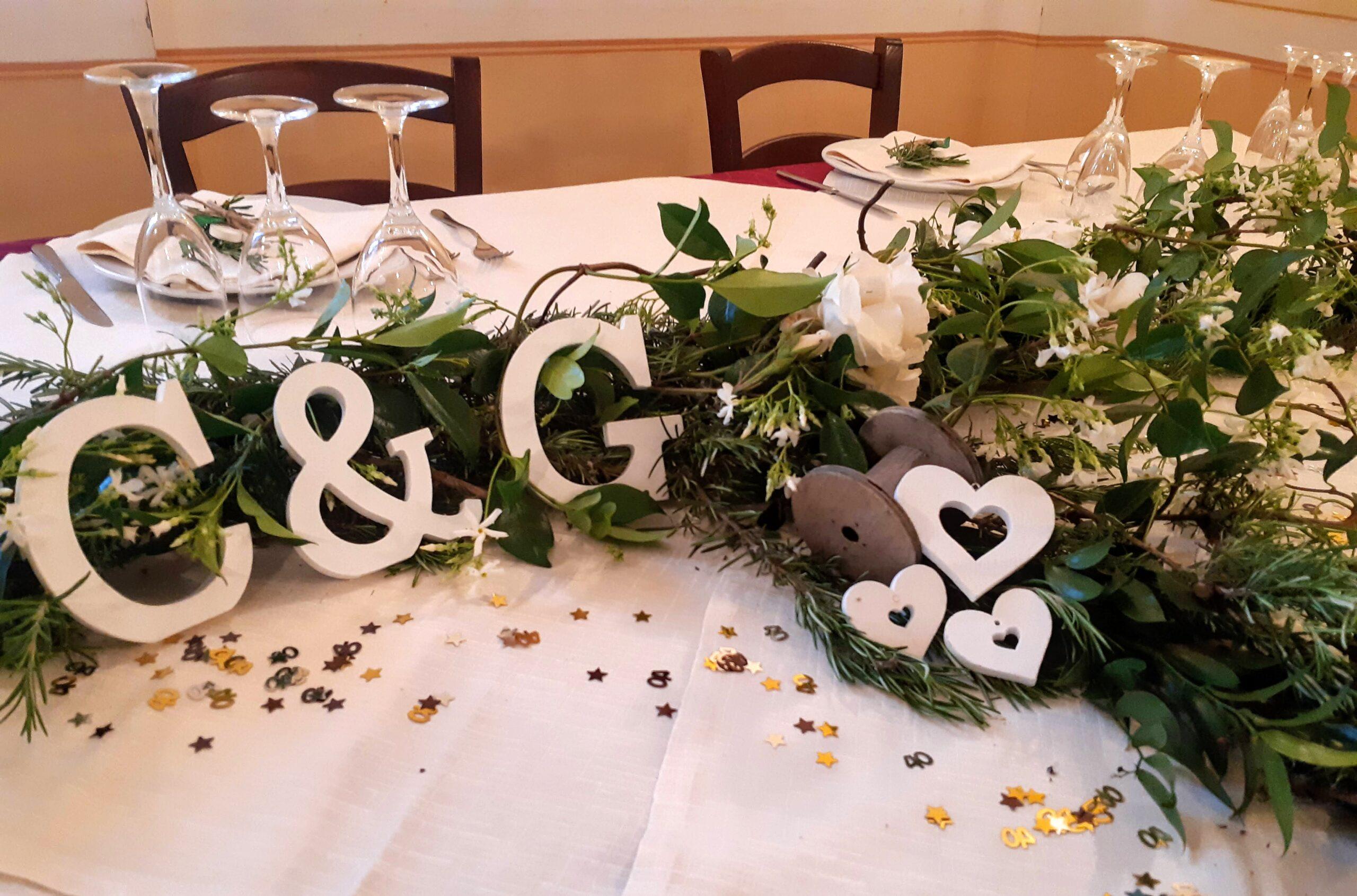 40° esimo Anniversario di matrimonio- Nozze di Smeraldo – Ristorante Le Macine- Torrita di Siena